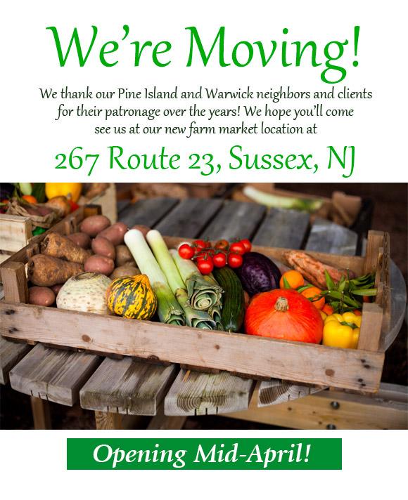 JADS Farmers Market Sussex NJ Local Vegetables